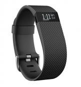 Fitbit Wristband CHARGE HR, Black, L, FB405BKL-EU - 1